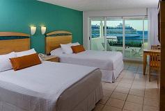 Habitación Deluxe Vista al Mar del Hotel Casa Mexicana Cozumel