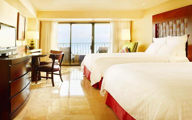 Habitación Banderas Vista al Mar Desayuno Buffet GRATIS del Hotel Hotel Marriott Puerto Vallarta Resort & Spa