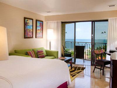 Habitación Vista al Mar Desayuno Buffet y Kids Club GRATIS del Hotel Hotel Marriott Puerto Vallarta Resort & Spa