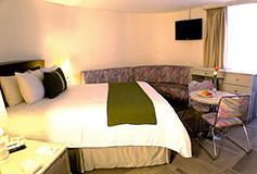 Habitación Junior Suite del Hotel Century Zona Rosa