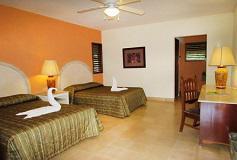 Habitación Estándar con transporte del Hotel Chicanna Ecovillage Resort