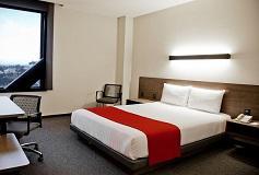 Habitación Sencilla del Hotel City Express Plus Satélite
