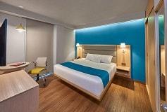 Habitación Suite Sencilla del Hotel City Express Suites Anzures