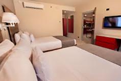 Habitación Estudio Suite Doble del Hotel City Express Suites Cabo San Lucas