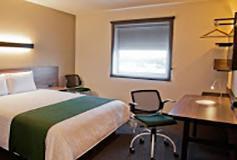 Habitación Suite Básica del Hotel City Express Suites Cabo San Lucas
