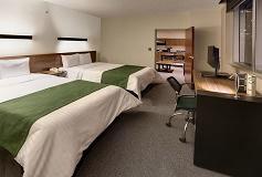 Habitación Junior Suite Doble del Hotel City Express Suites Santa Fe