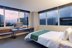 Habitación Junior Suite del Hotel City Express Suites Santa Fe