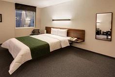Habitación Suite Estudio del Hotel City Express Suites Santa Fe