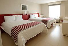 Habitación Estándar Doble del Hotel Hotel City Express Veracruz
