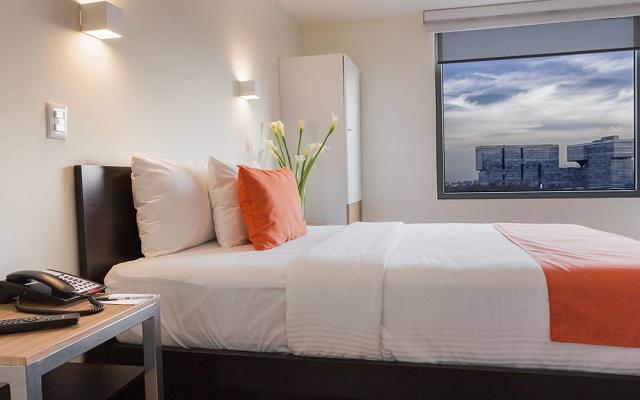 Habitación Queen del Hotel Hotel Comfort Inn Ciudad de México Santa Fe