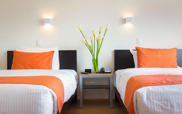Habitación Twin del Hotel Hotel Comfort Inn Ciudad de México Santa Fe