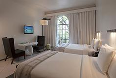 Habitación Balcón Vista Twin del Hotel Hotel Condesa DF
