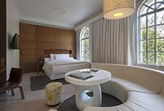 Habitación Corner Suite del Hotel Hotel Condesa DF