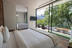 Habitación Terrace Suite del Hotel Hotel Condesa DF