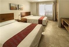 Habitación Condominio Dos Recámaras del Hotel Coral Maya Turquesa Condo Hotel