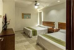 Habitación Condominio Una Recámara del Hotel Coral Maya Turquesa Condo Hotel