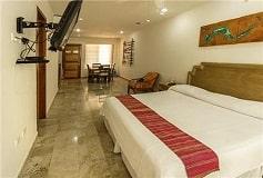Habitación Estudio del Hotel Coral Maya Turquesa Condo Hotel