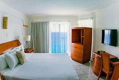 Habitación Deluxe Oceanfront del Hotel Coral Princess Golf & Dive Resort