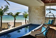 Habitación Suite Superior Ocean View del Hotel Coral Tulum