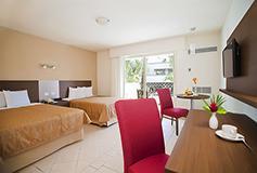Habitación Estándar + WiFi Gratis del Hotel Crown Paradise Club Puerto Vallarta