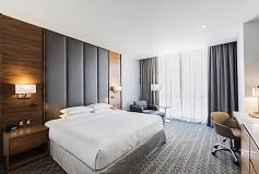 Habitación Junior Suite Una Cama King del Hotel DoubleTree by Hilton Hotel Mexico City Santa Fe