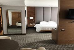 Habitación Premium Suite con Terraza del Hotel DoubleTree by Hilton Hotel Mexico City Santa Fe