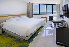 Habitación Estudio Suite King Vista al Mar del Hotel DoubleTree by Hilton Hotel Veracruz
