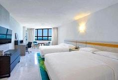 Habitación Junior Suite Doble Vista al Mar del Hotel DoubleTree by Hilton Hotel Veracruz