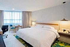 Habitación Junior Suite King Vista al Mar del Hotel DoubleTree by Hilton Hotel Veracruz