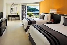 Habitación Deluxe Partial Ocean View Double del Hotel Hotel Dreams Huatulco Resort and Spa