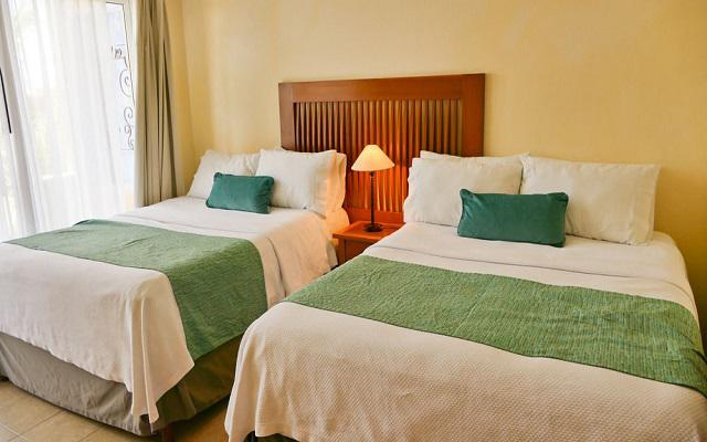 Habitación Suite De Una Recámara Dos Camas Dobles del Hotel El Ameyal Hotel and Family Suites