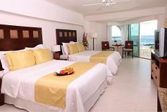Habitación Deluxe Vista al Mar - Al Elite del Hotel El Cid La Ceiba Beach