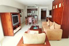 Habitación Suite de Una Recámara Vista al Mar al Elite del Hotel El Cid La Ceiba Beach