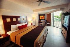 Habitación Suite de Una Recámara Vista al Mar del Hotel El Cid La Ceiba Beach