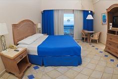 Habitación Deluxe con Vista al Mar del Hotel El Cozumeleño Beach Resort