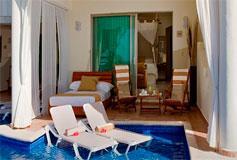 Habitación Swim Up Suite del Hotel Hotel El Dorado Maroma by Karisma