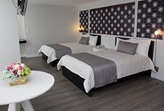 Habitación Super Saver No Reembolsable Dos Camas Matrimoniales del Hotel Hotel El Ejecutivo by Reforma Avenue