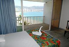 Habitación Estándar Doble Vista a la Bahía del Hotel Hotel El Presidente Acapulco