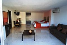 Habitación Junior Suite Vista al Boulevard del Hotel Hotel El Presidente Acapulco