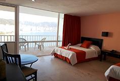 Habitación Superior Doble Vista a la Bahía del Hotel Hotel El Presidente Acapulco