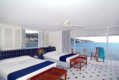 Habitación Junior Suite del Hotel Elcano Acapulco