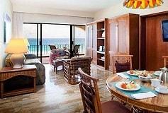 Habitación Suite de Dos Recámaras Ocean View del Hotel Emporio Hotel & Suites Cancun