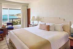 Habitación Superior King Vista al Mar del Hotel Emporio Ixtapa
