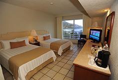 Habitación Superior Vista al Mar del Hotel Emporio Ixtapa