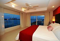 Habitación Superior Vista al Mar del Hotel Hotel Emporio Veracruz