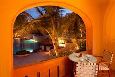 Habitación Deluxe Vista Jardin del Hotel Fiesta Americana Condesa Cancun