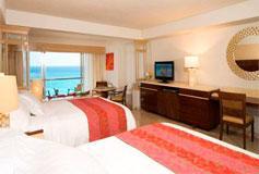 Habitación Junior Suite Vista al Mar del Hotel Hotel Grand Fiesta Americana Coral Beach Cancún