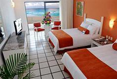Habitación Estándar Vista al Mar del Hotel Hotel Flamingo Cancún Resort