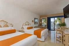 Habitación Superior Vista Marina + Wifi Gratis Todo Incluido del Hotel Flamingo Vallarta Hotel y Marina
