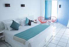 Habitación Estándar Vista al Mar del Hotel Hotel Fontán Ixtapa